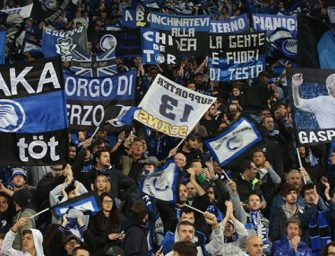 Reggio. Atalanta-Borussia, 3 poliziotti feriti