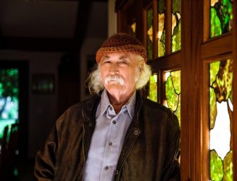David Crosby in concert all'Auditorium Parco della Musica