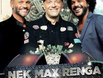 'Max, Nek, Renga – il Tour', rinviata data bolognese