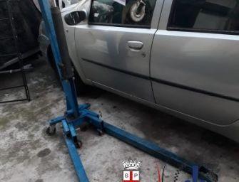 Reggio. Officina meccanica abusiva in via Ferraroni: multa da 7mila euro