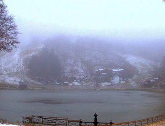 Maltempo, la prima neve sull'Appennino