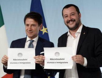 """""""Il Decreto Salvini smantella e snatura il sistema dell'accoglienza"""""""