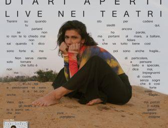 """Elisa al Valli con il nuovo album """"Diari aperti"""""""