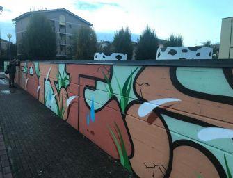 Reggio. Un murales per dare il benvenuto al Foscato