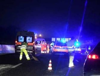 Incidente in A1, muore una 28enne di Parma