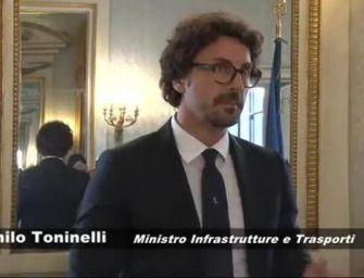 L'incredibile gaffe di Toninelli sul tunnel del Brennero