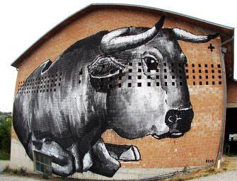Angoli di Street Art, i murales di Vedriano e Trinità di Canossa