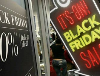 E' tempo di Black Friday, il giorno dello shopping