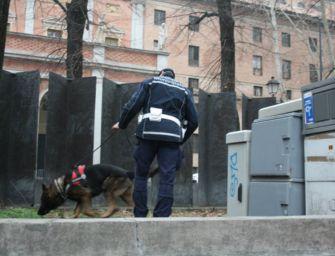 Evade dai domiciliari, incappa nel cane Victor: arrestato per stupefacenti