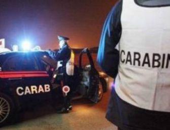 Droga e alcol sulle strade reggiane, in 12 nella rete dei carabinieri