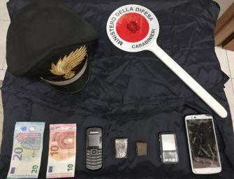 Reggio. Spaccia a minorenni, in arresto pusher 22enne