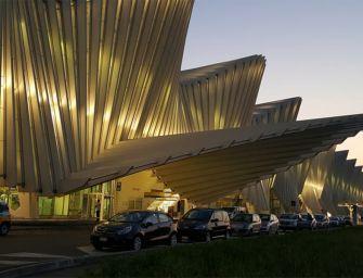 Stazione Mediopadana: 444 nuovi posti auto e 315 piante