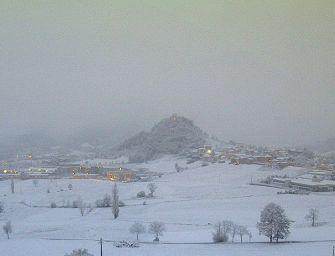 Nevica in Emilia: coltre bianca in Appennino, fiocchi anche in città