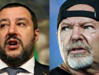 Salvini canta Albachiara. Ma l'attacco di Vasco Rossi è un falso