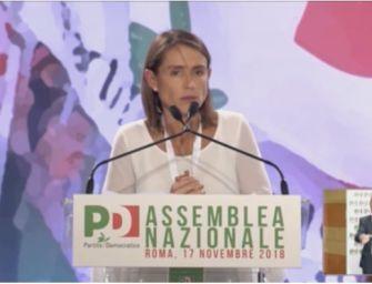 "Assemblea Pd, la delegata emiliana Katia Tarasconi: ""Basta correnti, ritiratevi tutti"""