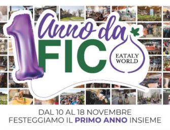 Dal 10 al 18 novembre Fico Eataly World festeggia il primo anno di vita