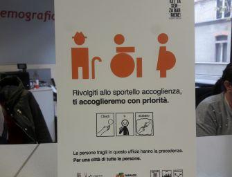 Reggio senza barriere, anche l'anagrafe è più accogliente
