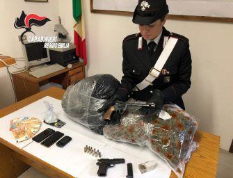 Armi e droga, arrestato barista 27enne originario di Cutro