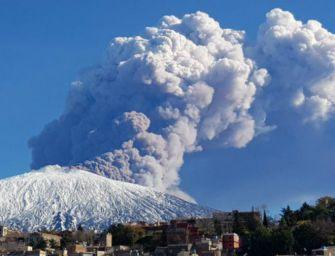 Terremoto, rischio eruzioni dell'Etna