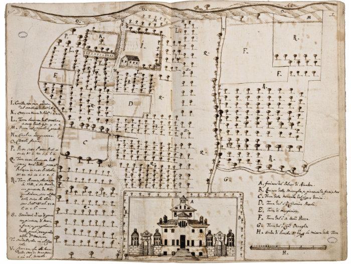 Mappa della Reggia di Rivalta