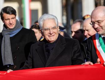 Tricolore, Reggio invita Mattarella