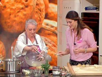 """Martedì 18 dicembre a """"La prova del cuoco"""" su Rai Uno i tortellini in brodo della chef bolognese Alessandra Spisni"""
