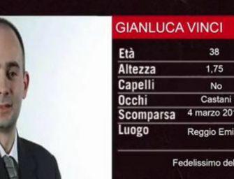 Reggio. De Lucia come 'Chi l'ha visto': Vinci è scomparso