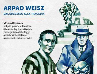 Reggio. In sinagoga inaugura la mostra su Arpad Weisz, allenatore morto nella Shoah