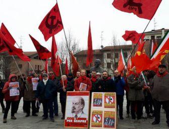 Nostalgici di Lenin a Cavriago nel 95esimo della morte