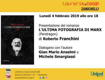 Alla Libreria Coop Zanichelli 'L'ultima fotografia di Marx'