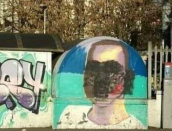 Reggio. Denunciato l'imbrattatore del murales dedicato a Sylvester
