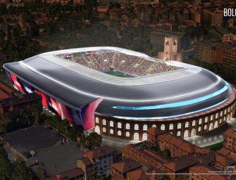 Il Bologna mostra il nuovo Dall'Ara: 27mila posti e tutto coperto