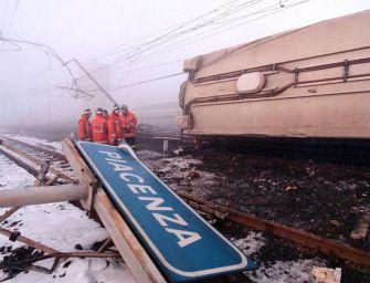 Piacenza ricorda le otto vittime del deragliamento del Pendolino del 1997