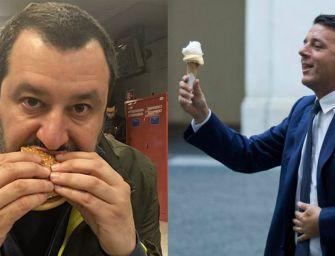 Renziani-Salvini, la cena diventa un caso