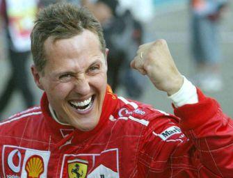 Modena porge gli auguri per i 50 anni al cittadino onorario Schumacher