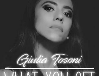 Giulia Tosoni ha lanciato online il nuovo singolo