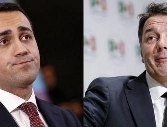Recessione, Di Maio: la colpa è del Pd. Renzi: tragedia di un uomo ridicolo