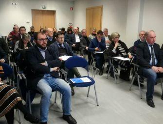 Sindaci e sindacati alla presentazione del bando di Confcooperative Reggio per rigenerare le imprese