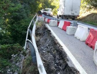 Frana a Canossa, da marzo il cantiere sul tratto di Sp 79 tra le frazioni di Selvapiana e Cerezzola