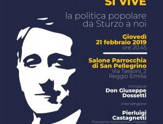 """Reggio. In San Pellegrino: """"Un programma politico non si inventa, si vive"""""""