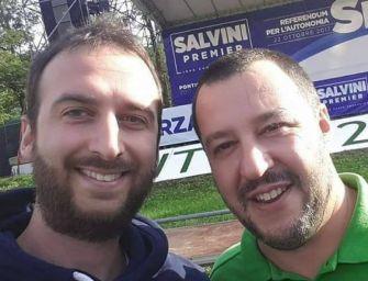 24emilia video Reggio. Lega: in piazza per difendere l'operato di Salvini