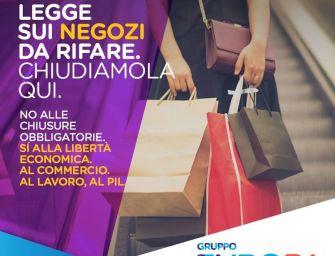 +Europa: no alle chiusure obbligatorie dei negozi la domenica