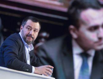Salvini: lasciate lavorare la Lega. M5s: è più in piazza che al ministero