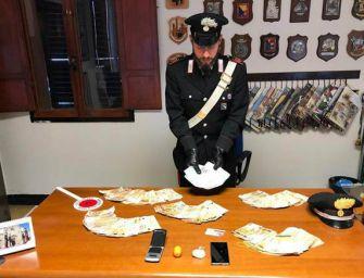 Castel San Pietro Terme, arrestato trafficante di cocaina: sequestrati 59mila euro in contanti
