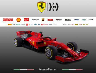 """F1: presentata la Ferrari SF90, omaggio ai 90 anni della """"Rossa"""" di Maranello"""