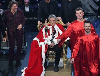 Ligabue sul trono di Sanremo