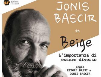 """Venerdì 22 marzo alle 21 al Teatro del Fiume di Boretto lo spettacolo """"Beige"""" con Jonis Bascir"""