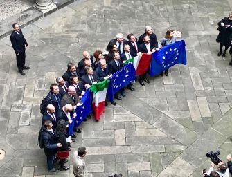 I sindaci italiani e i valori dell'Europa a Palazzo Marino
