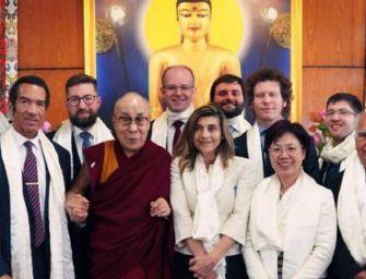 Incerti (Pd) incontra il Dalai Lama a Dharamsala