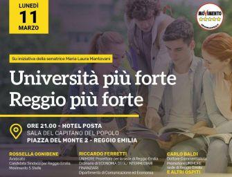 M5s. Ognibene: Università più forte, Reggio più forte